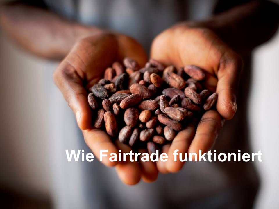 Wie Fairtrade funktioniert