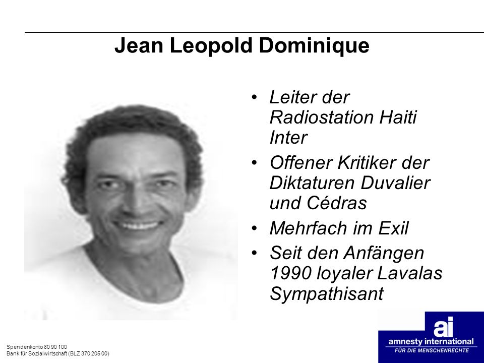 Jean Leopold Dominique