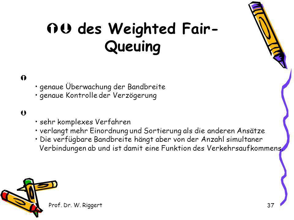  des Weighted Fair-Queuing