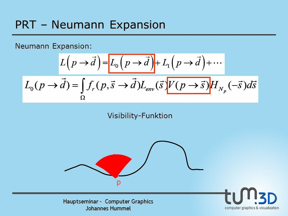 PRT – Neumann Expansion