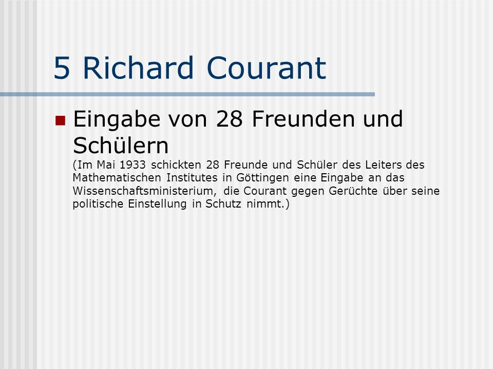 5 Richard Courant