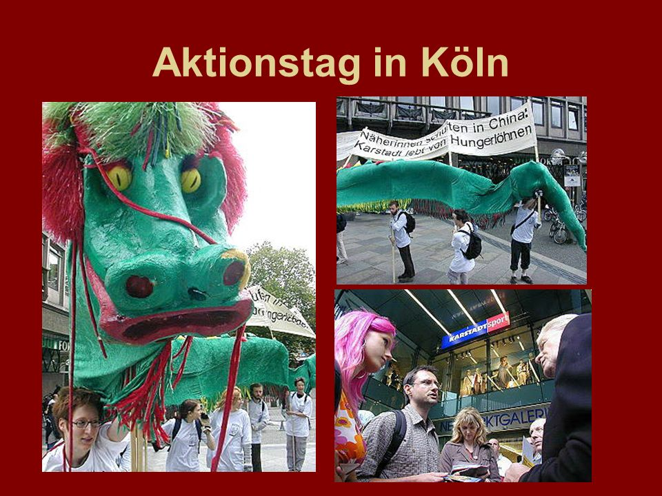 Aktionstag in Köln