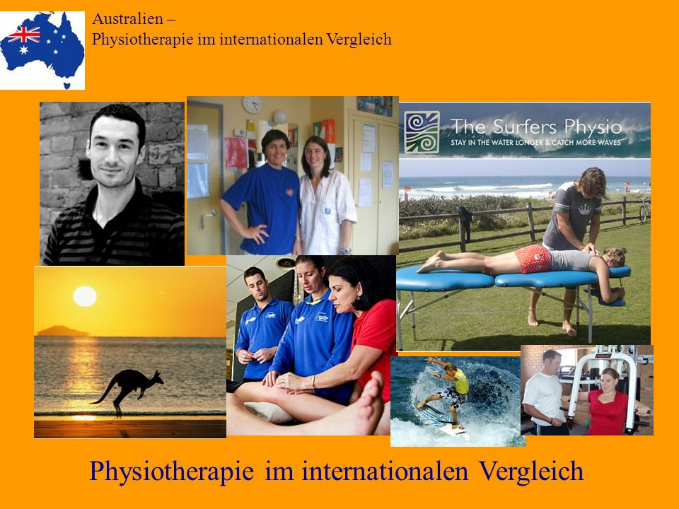 Physiotherapie im internationalen Vergleich