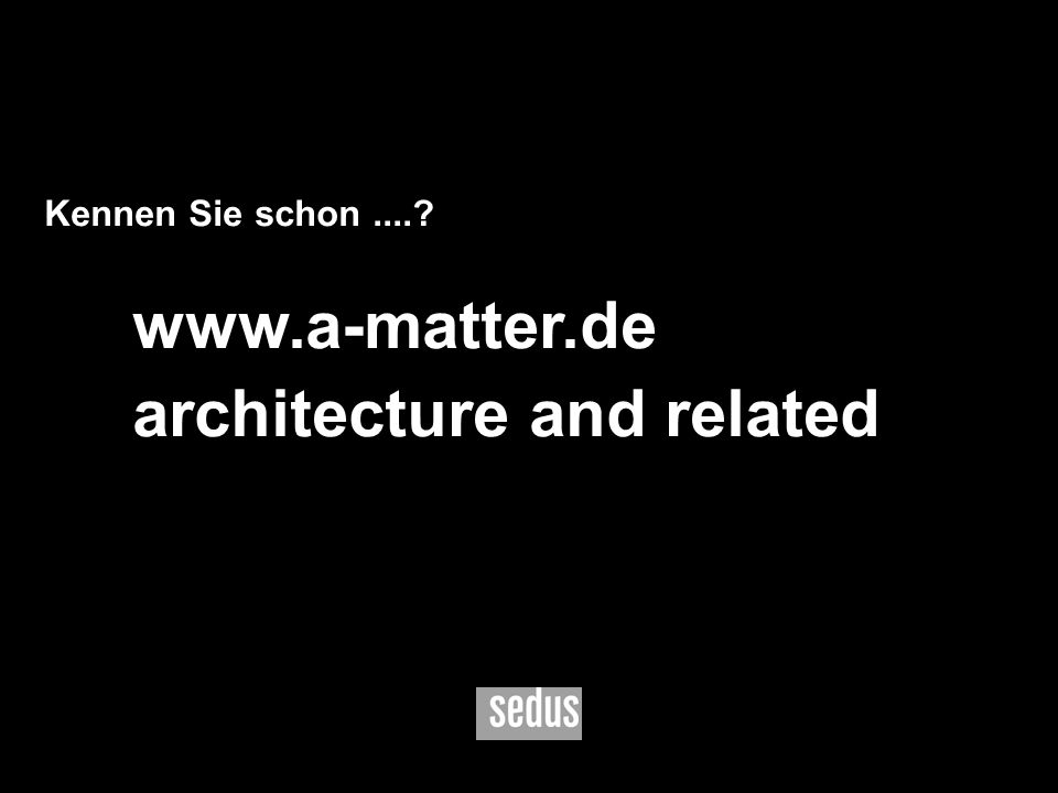 architecture and related