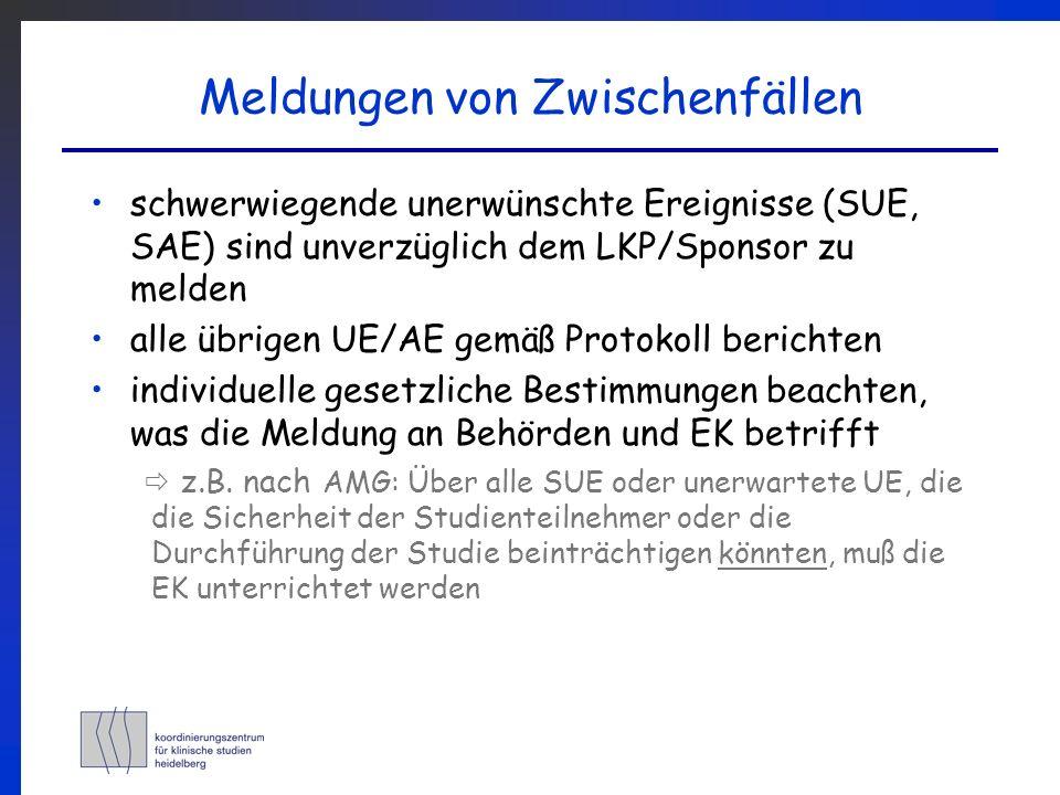 Workshop Klinische Studien: Verantwortlichkeiten eines Prüfarztes ...