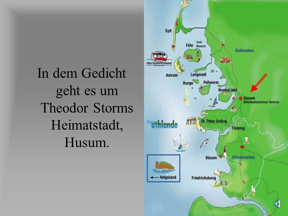 Storm gedicht husum