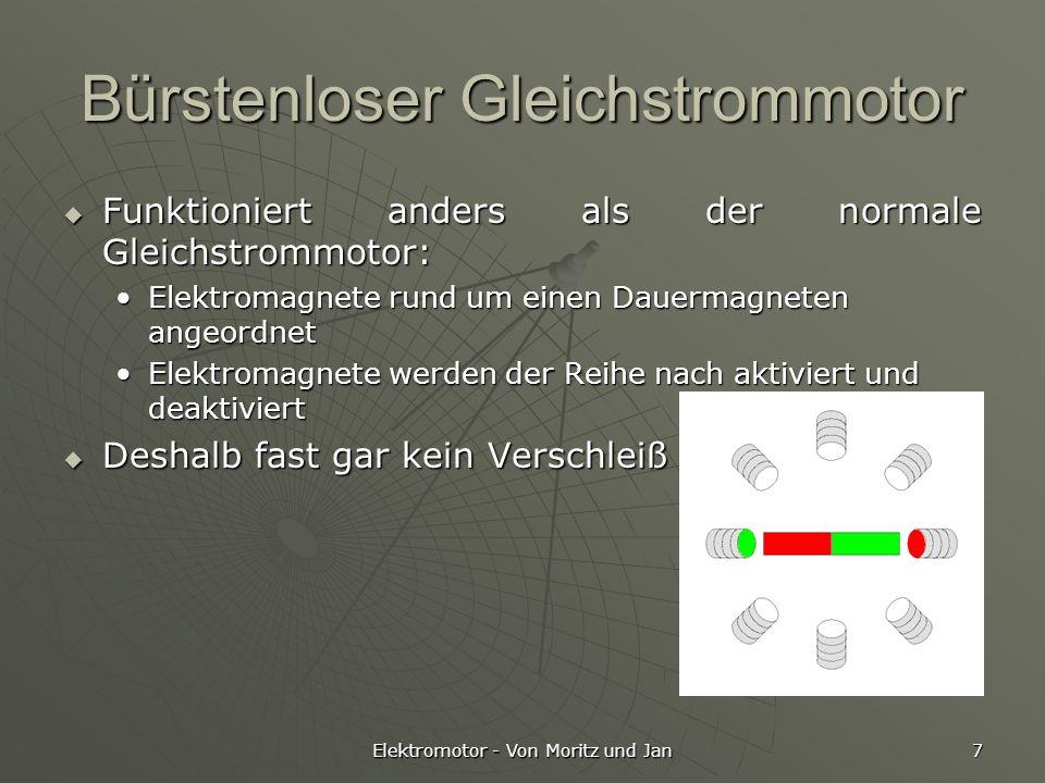 Der Elektromotor Von Moritz und Jan. - ppt video online herunterladen