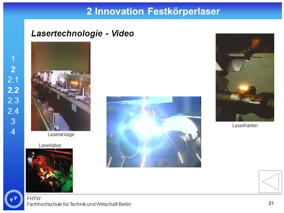 2 Innovation Festkörperlaser