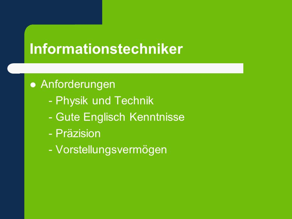 Informationstechniker