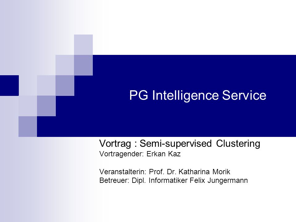 PG Intelligence Service