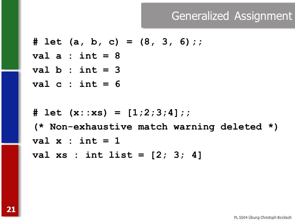 Generalized Assignment