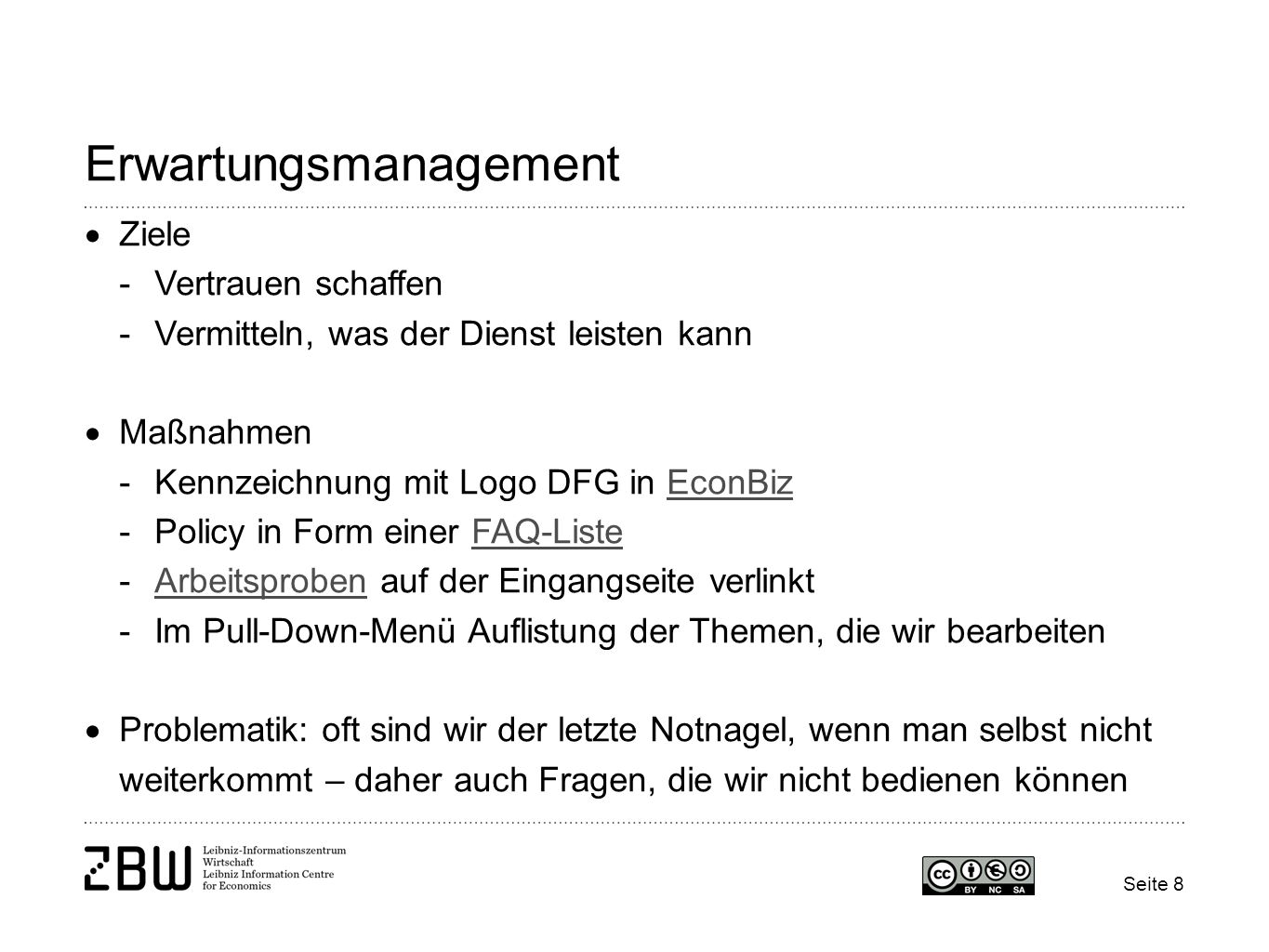 Erwartungsmanagement