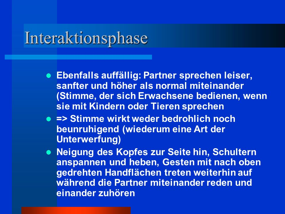 Interaktionsphase