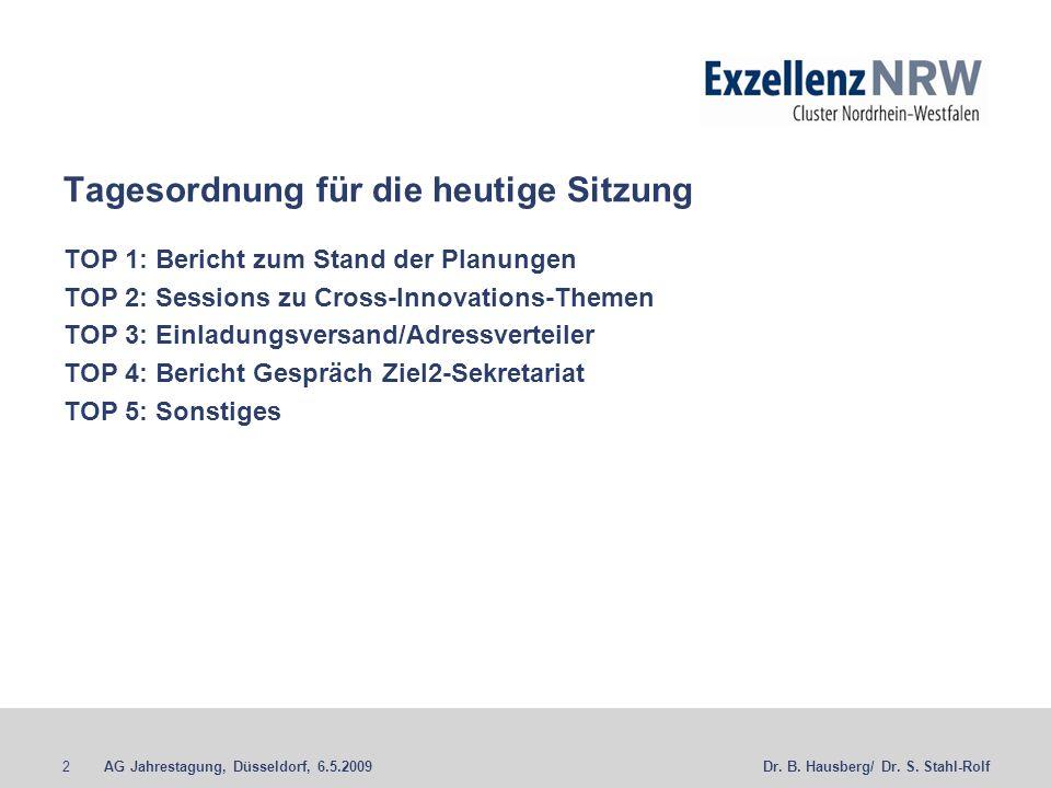 2. Sitzung der AG Jahrestagung - ppt herunterladen