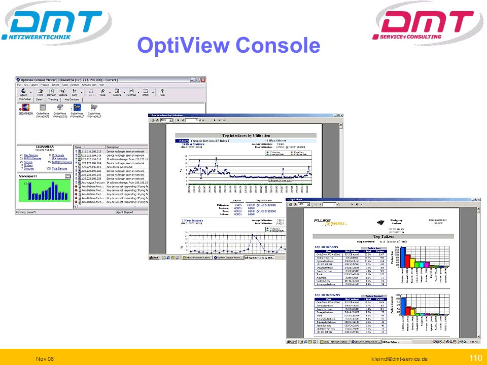 OptiView Console