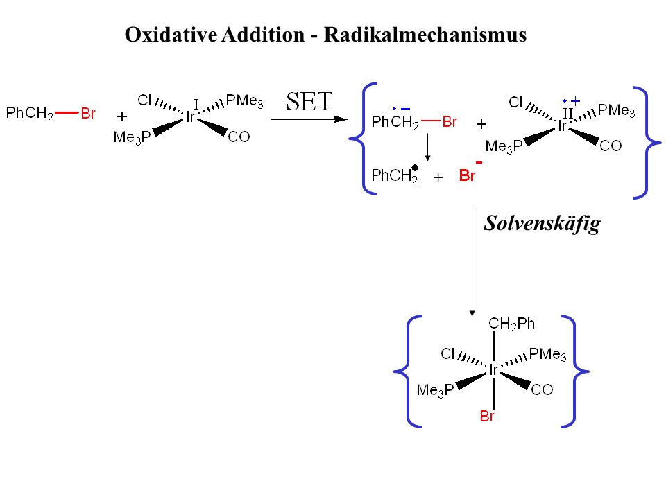 Oxidative Addition - Radikalmechanismus