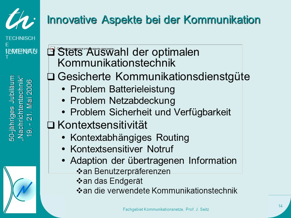 Innovative Aspekte bei der Kommunikation