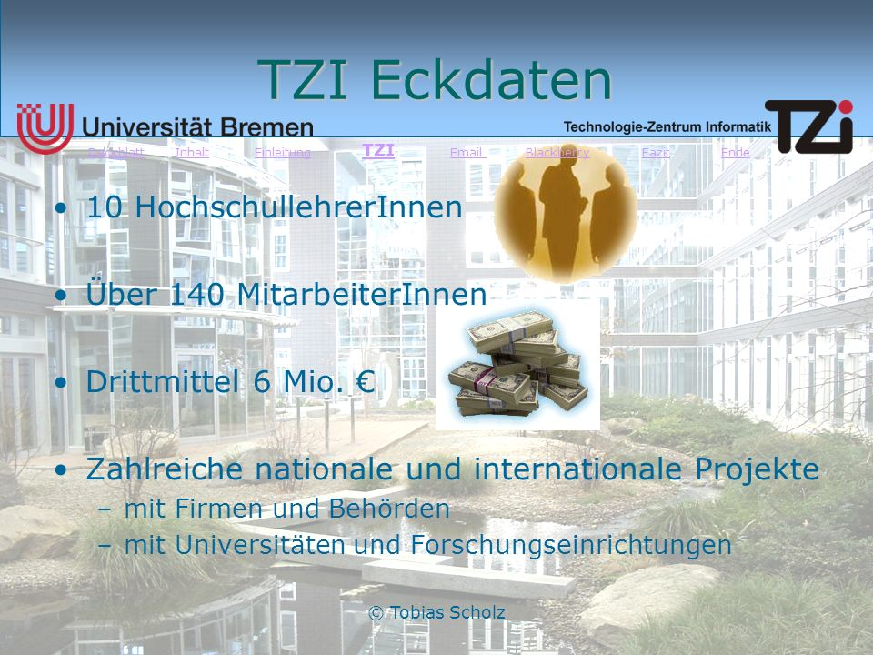 Praktikum Am Tzi Tobias Scholz Von Bis Ppt Herunterladen
