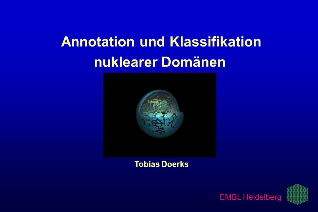 Annotation und Klassifikation