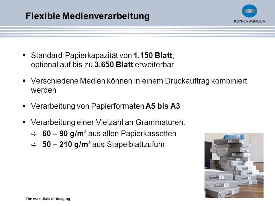 Flexible Medienverarbeitung