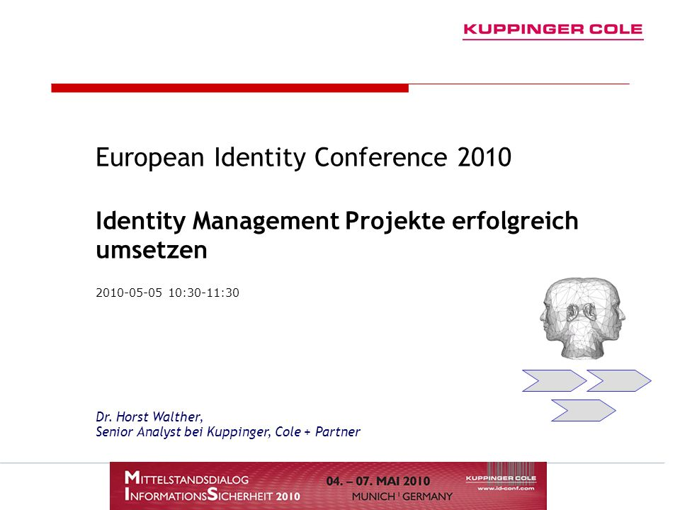 European Identity Conference 2010