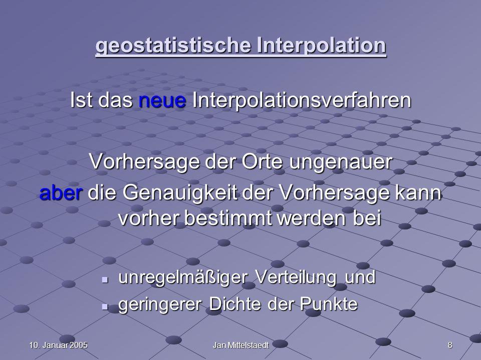 Geoinformation II WS 04/05 Kriging - ppt video online herunterladen