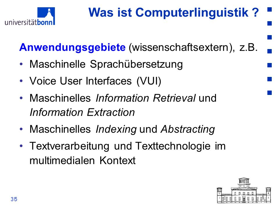 Was ist Computerlinguistik