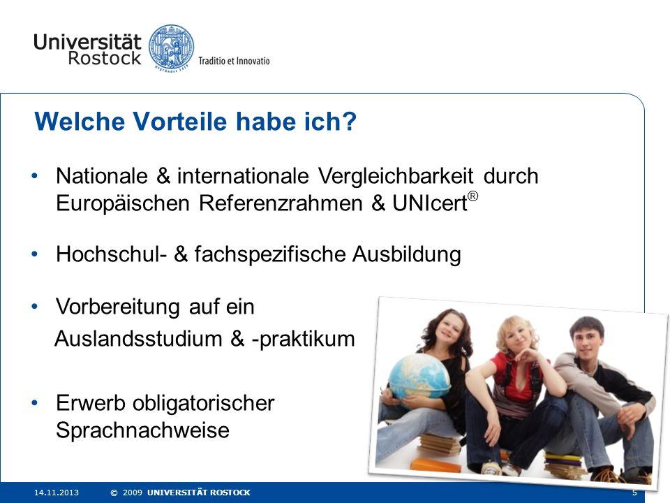 Sprachen & Studium Das Sprachenzentrum der Universität Rostock - ppt ...