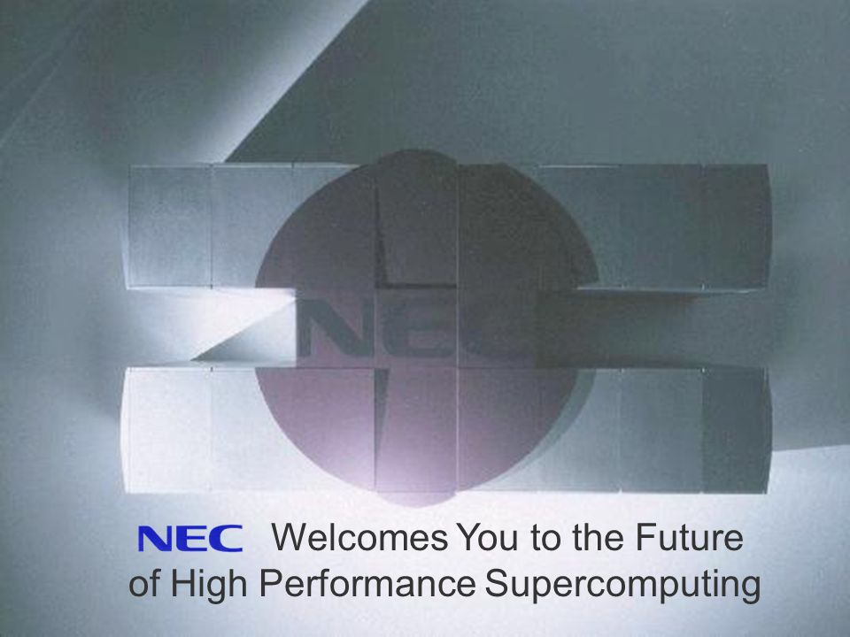 Welcomes You to the Future of High Performance Supercomputing