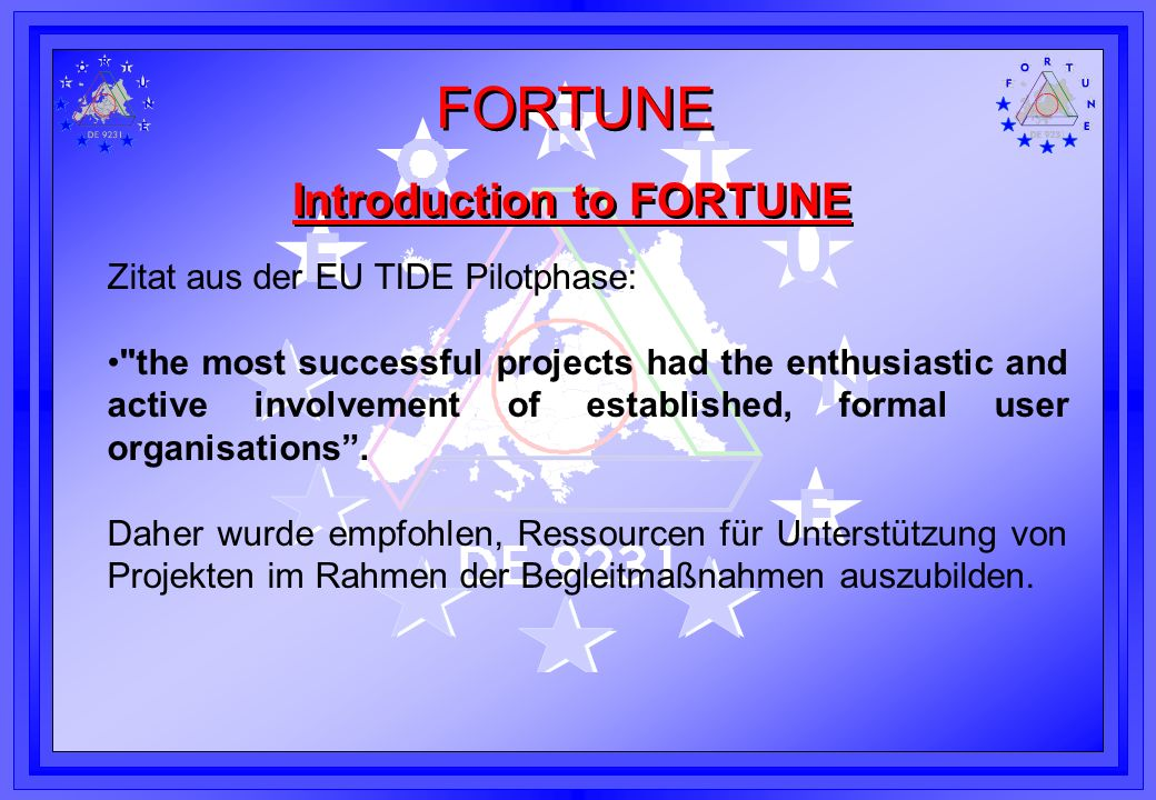 Introduction to FORTUNE