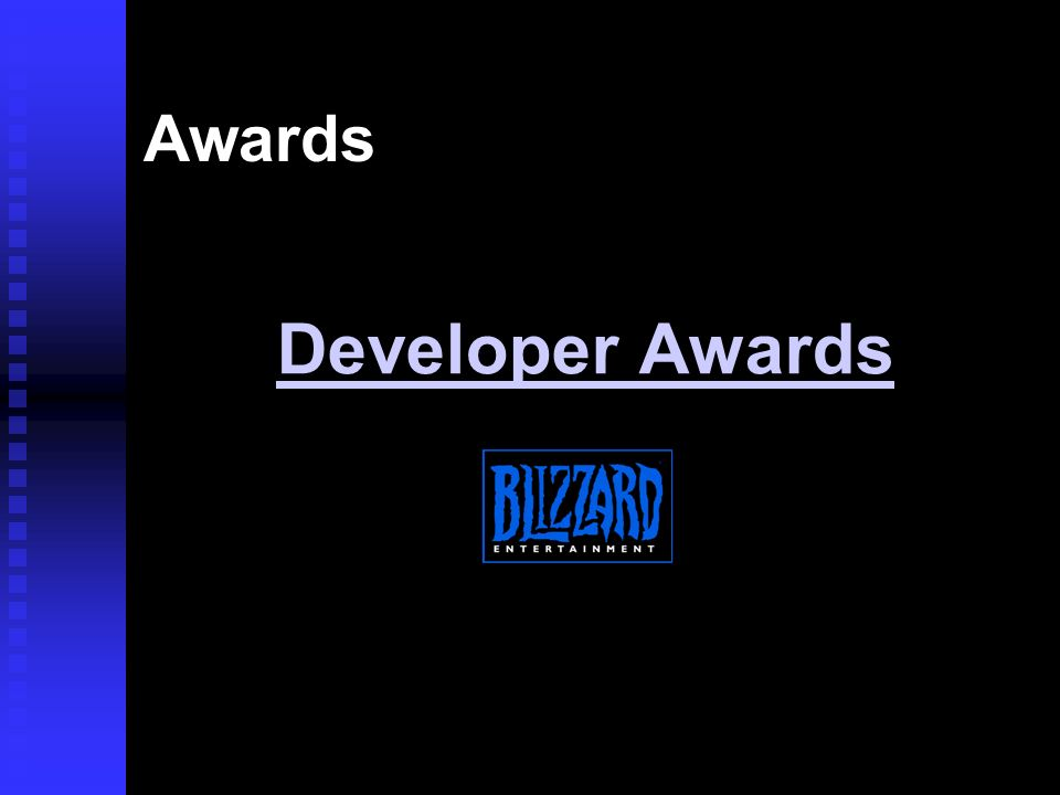 Awards Developer Awards