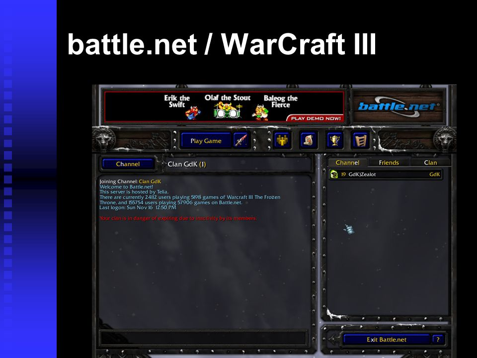 battle.net / WarCraft III