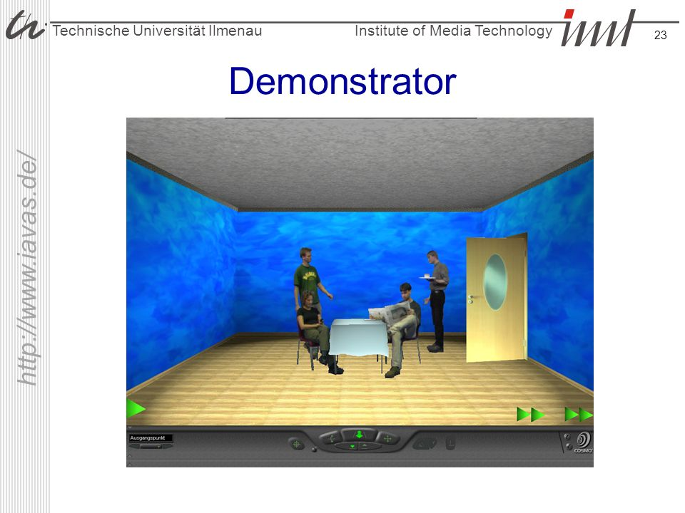 Demonstrator IAVAS-Demonstrator
