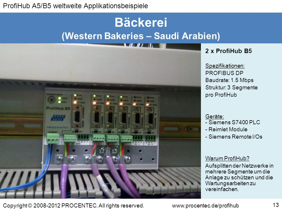 (Western Bakeries – Saudi Arabien)