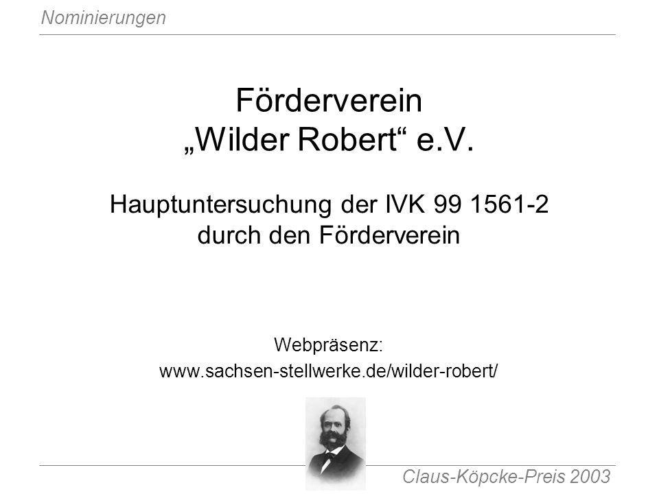 "Förderverein ""Wilder Robert e.V."
