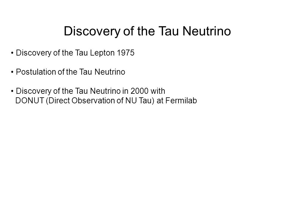 Discovery of the Tau Neutrino