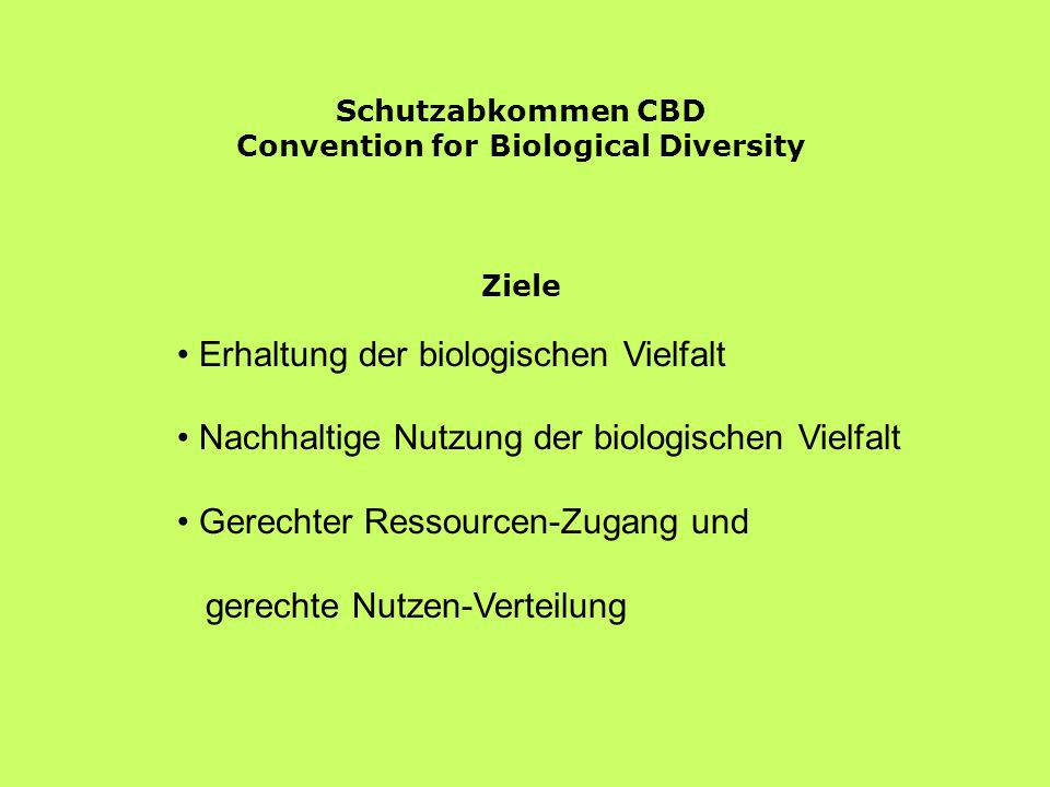 Convention for Biological Diversity