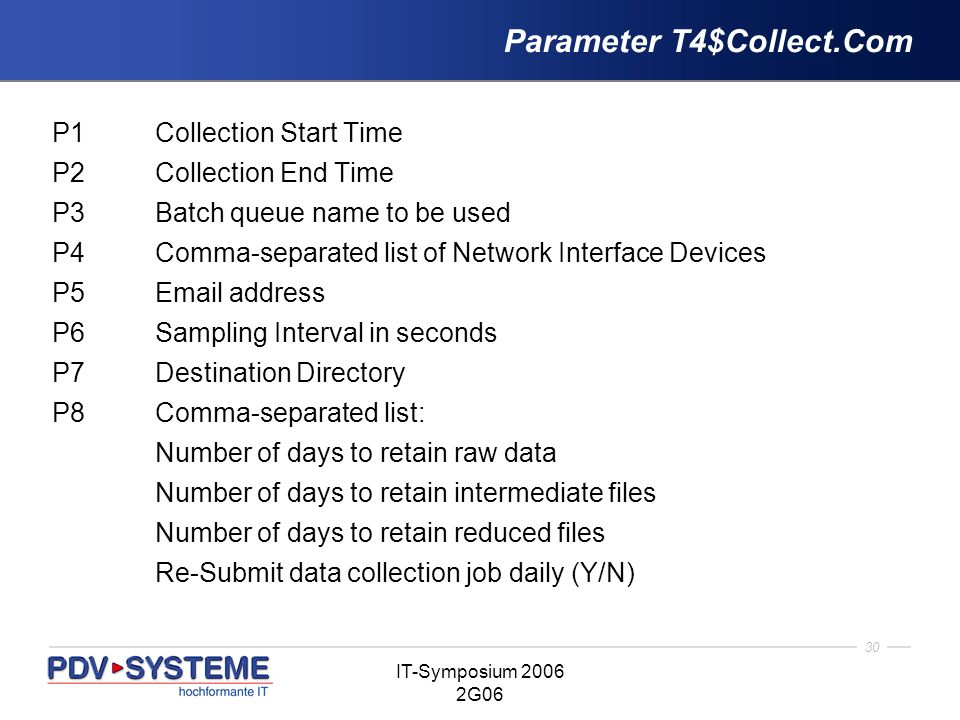 Parameter T4$Collect.Com