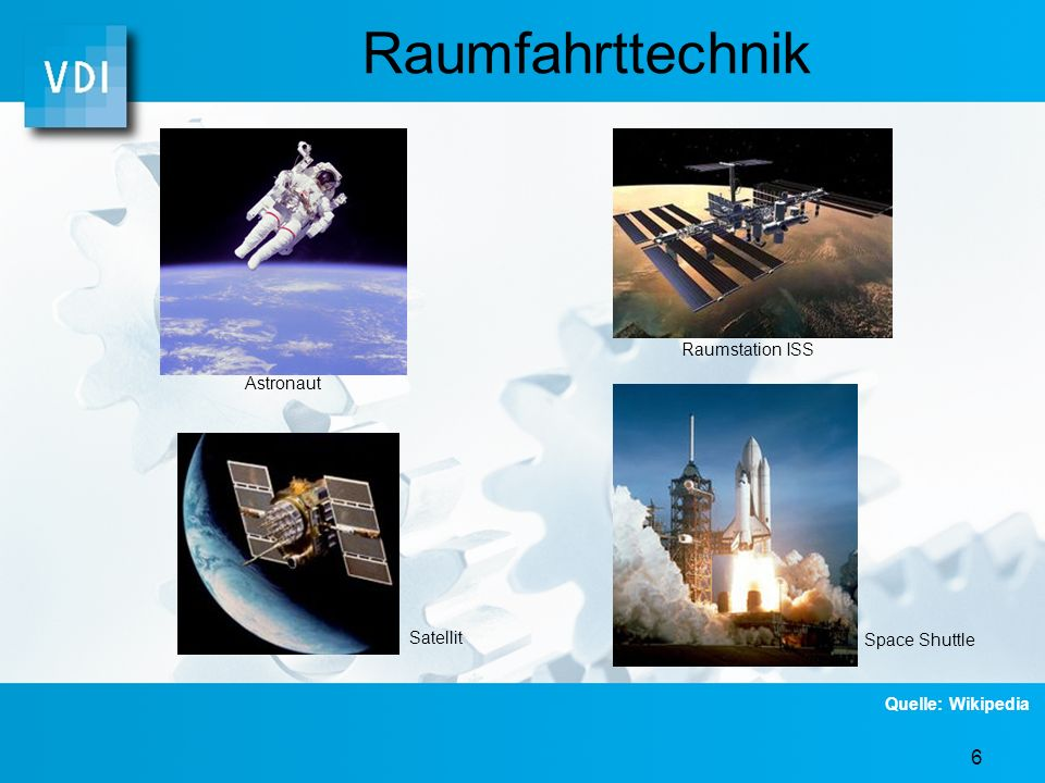 Raumfahrttechnik Raumstation ISS Astronaut Satellit Space Shuttle