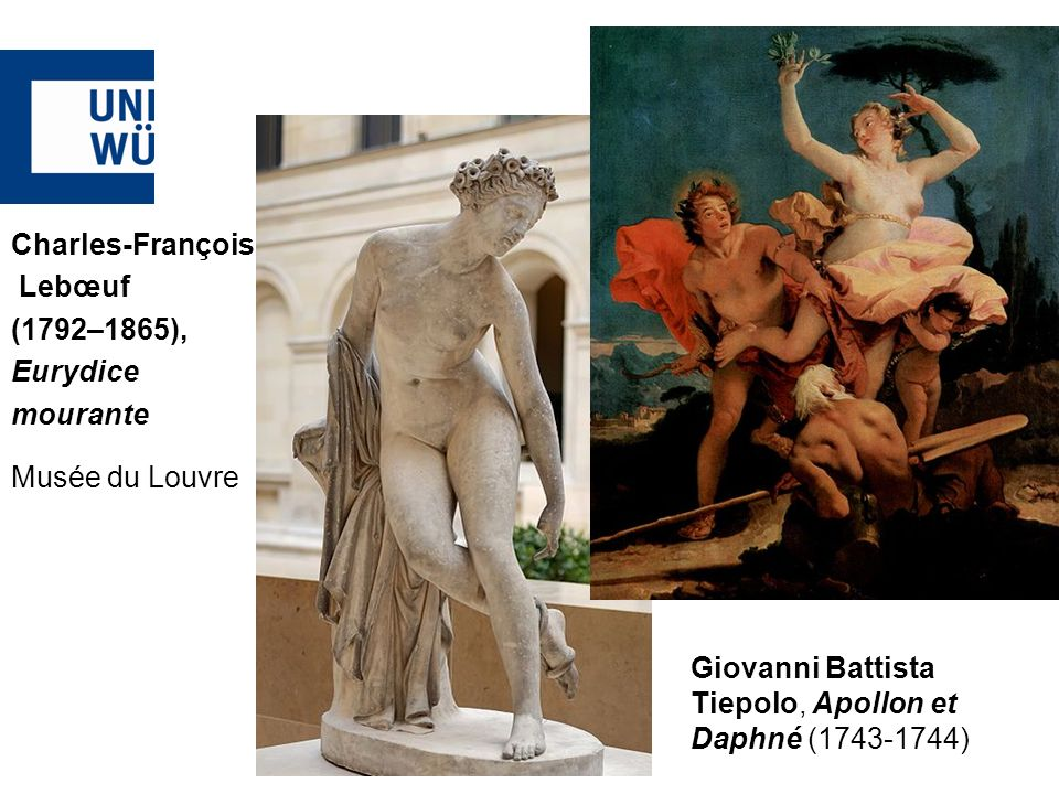Giovanni Battista Tiepolo, Apollon et Daphné ( )