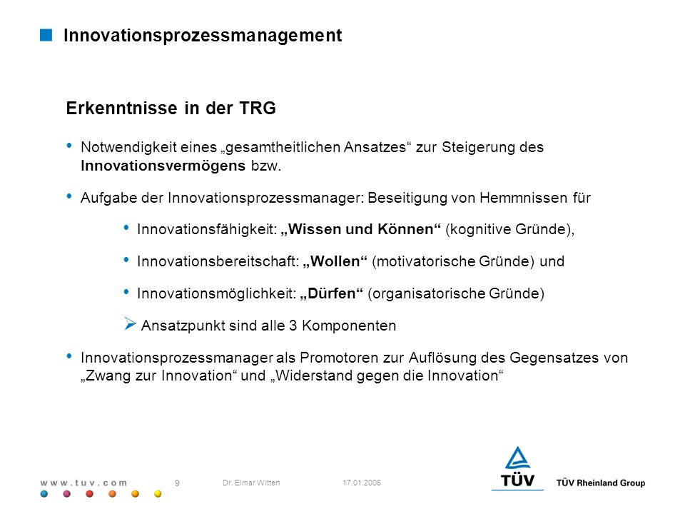 Innovationsprozessmanagement