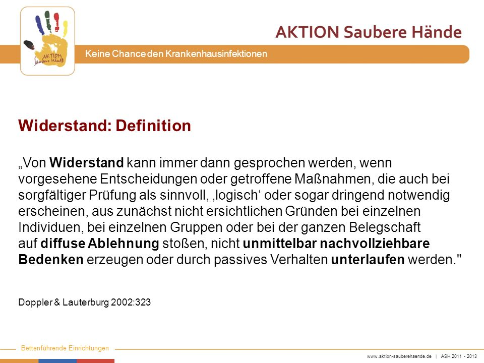 Widerstand: Definition