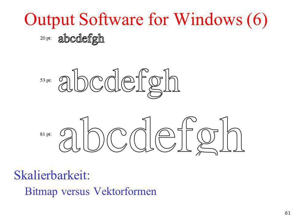 Output Software for Windows (6)