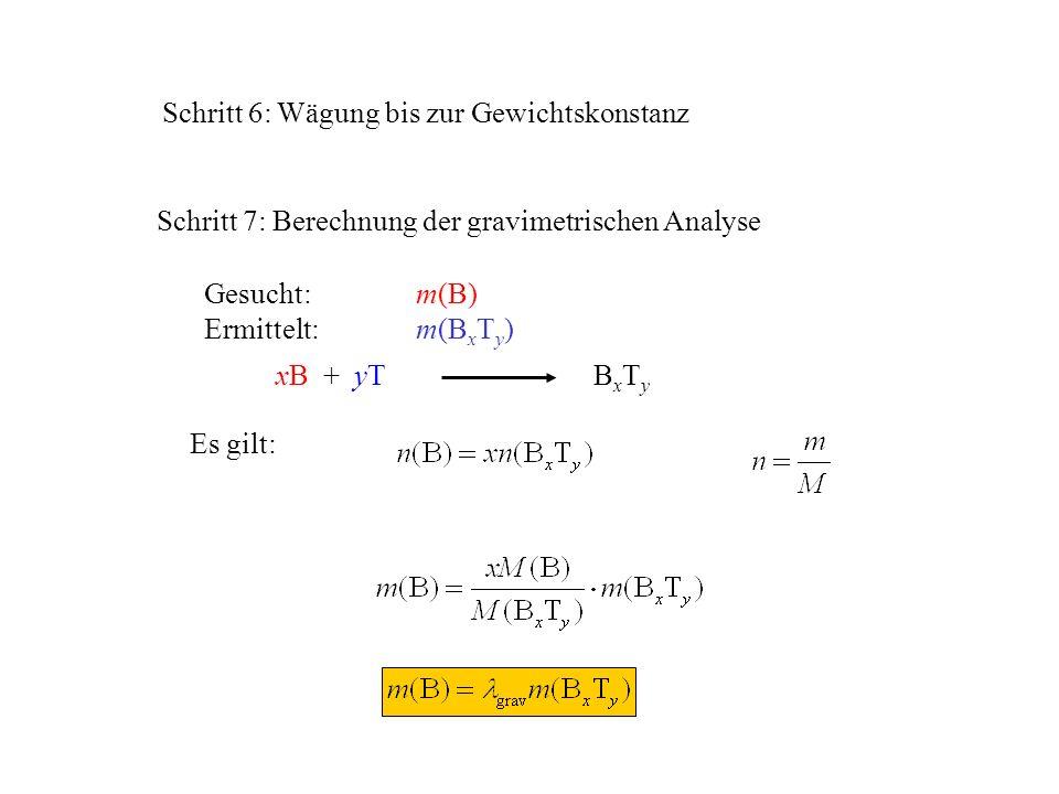 Gravimetrie -ist eine klassische analytische Methode - ppt video ...