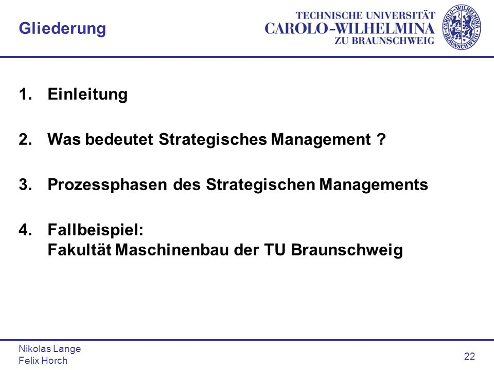 2. Was bedeutet Strategisches Management