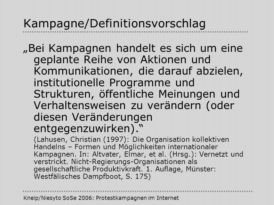 Kampagne/Definitionsvorschlag
