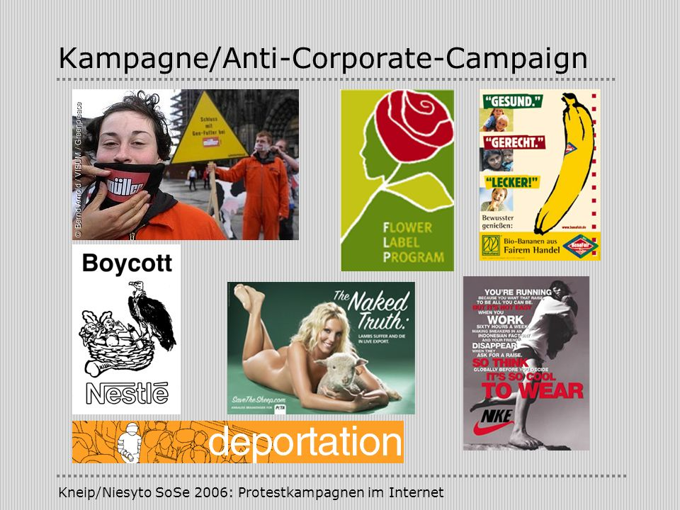 Kampagne/Anti-Corporate-Campaign