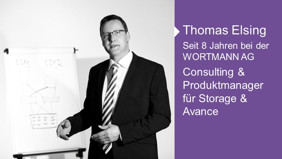 Thomas Elsing Consulting & Produktmanager für Storage & Avance
