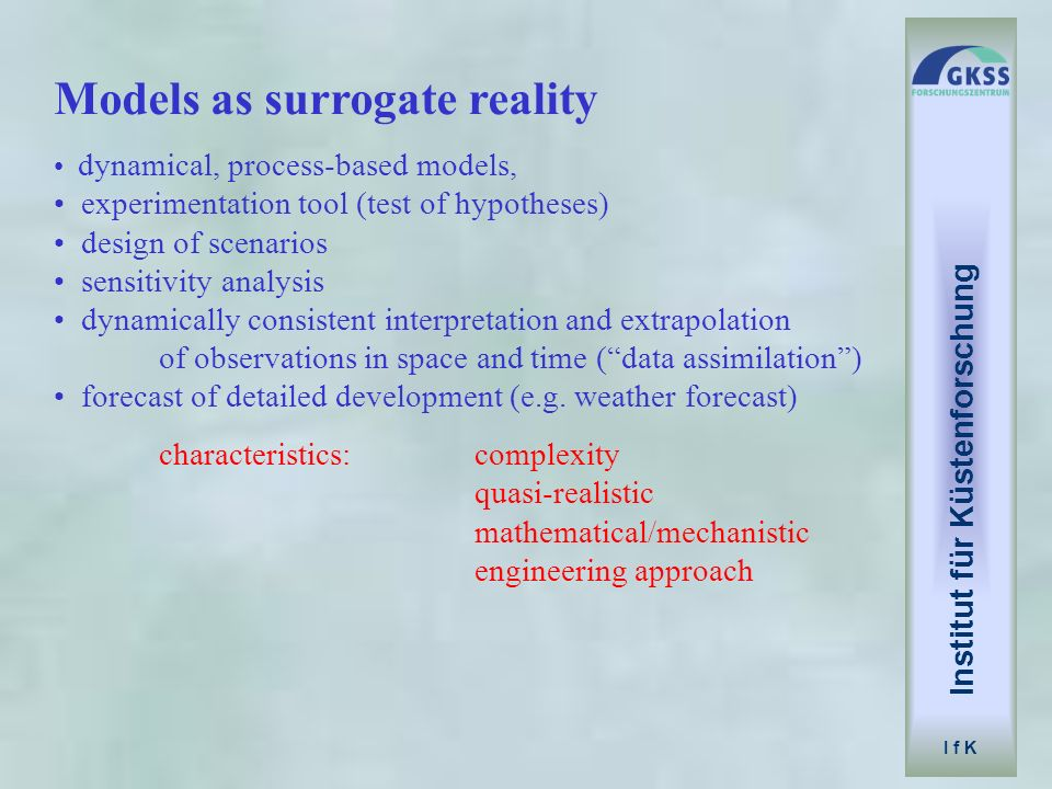 Models as surrogate reality