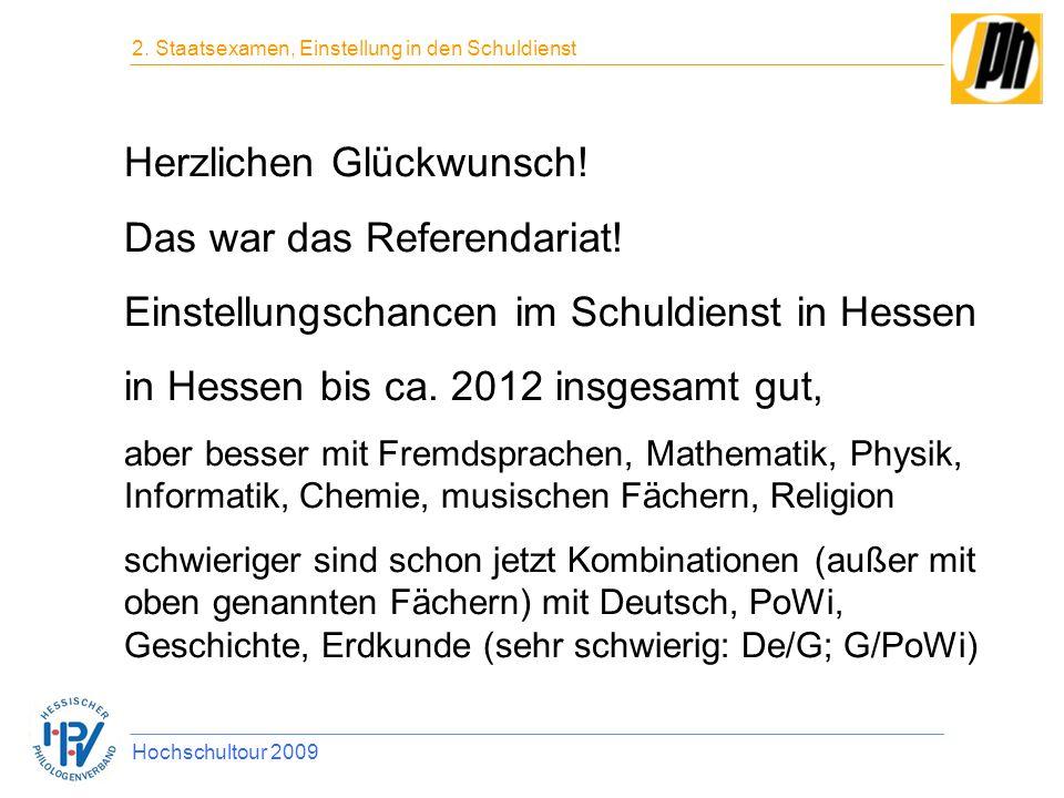 das war das referendariat - Bewerbung Referendariat Hessen